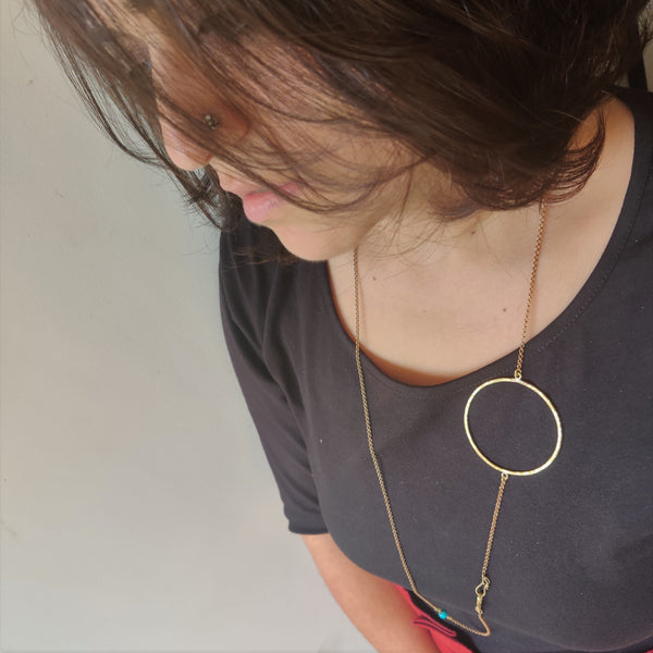 Quirky Hoop Spectacle / Mask Chain (Fashion Jewellery)