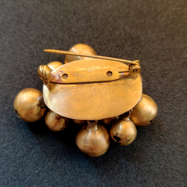 Ghungroo Brooch (Fashion Jewellery) - Quirksmith