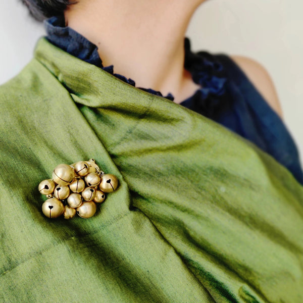 Ghungroo Brooch (Fashion Jewellery)