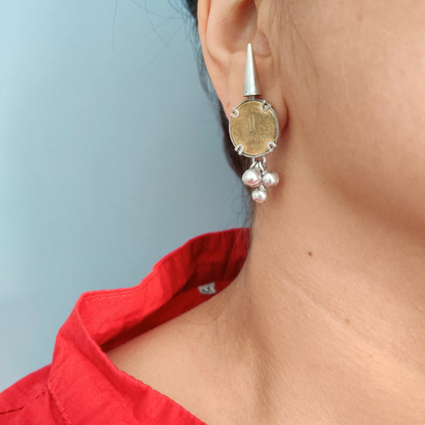 Casual 92.5 silver earrings for women and girls