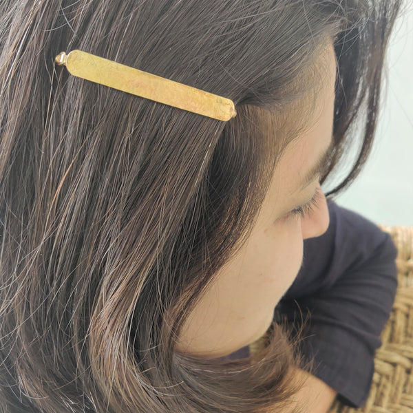 Hammered Hairpin (Fashion Jewellery)