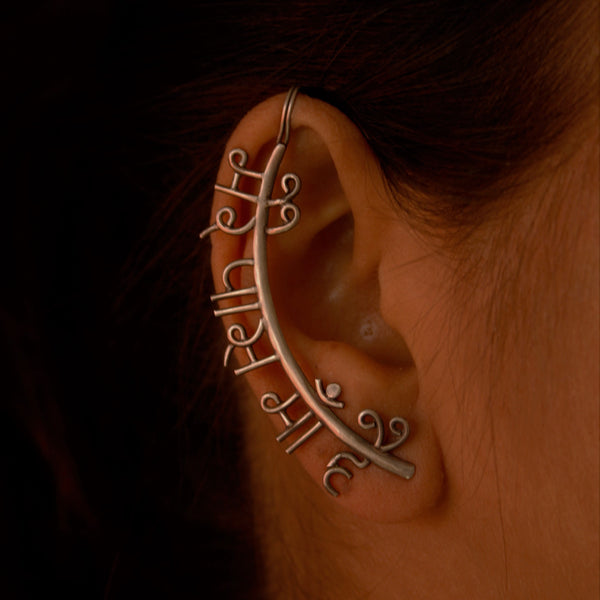Mere Pass Maa Hai - Earcuff - Quirksmith