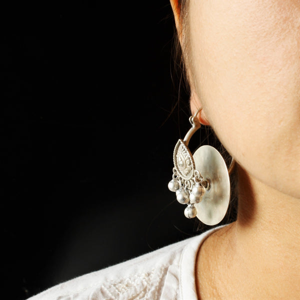 Gramophone Earrings - Quirksmith