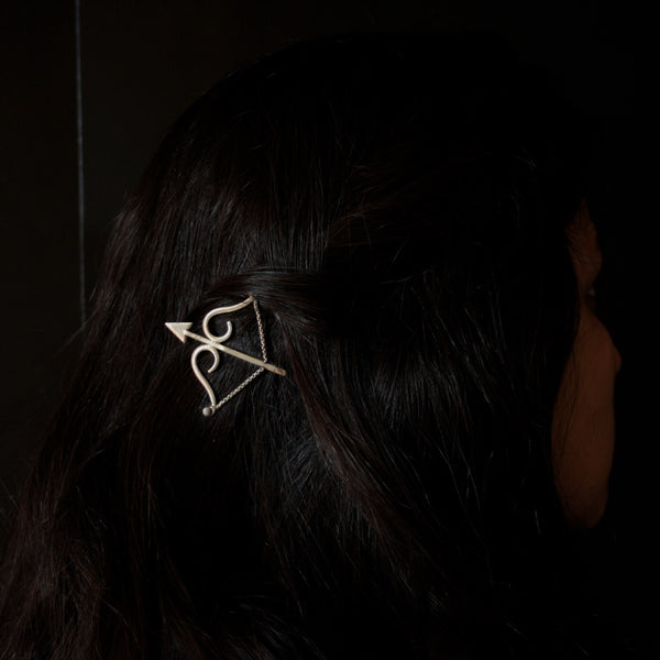 Dhanush Brooch and Hairpin - Quirksmith