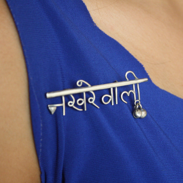 Nakhrewali Brooch - Saree pin Quirksmith