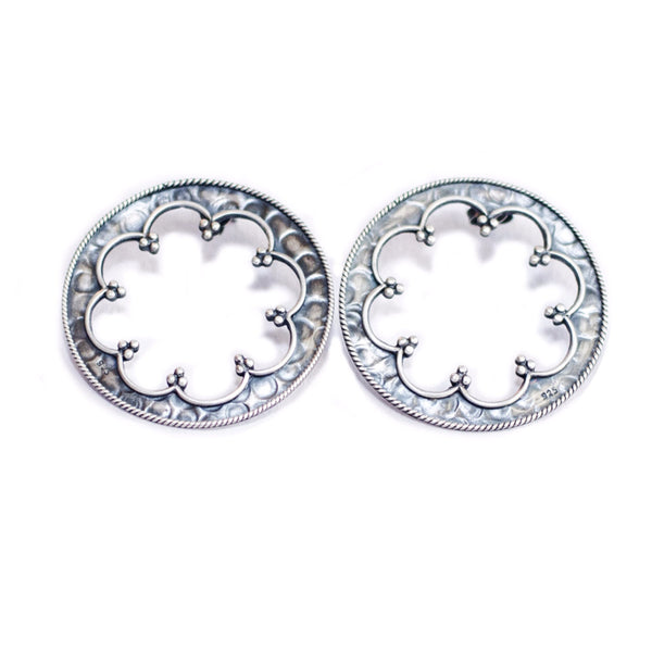 Tribal Round Studs - Quirksmith