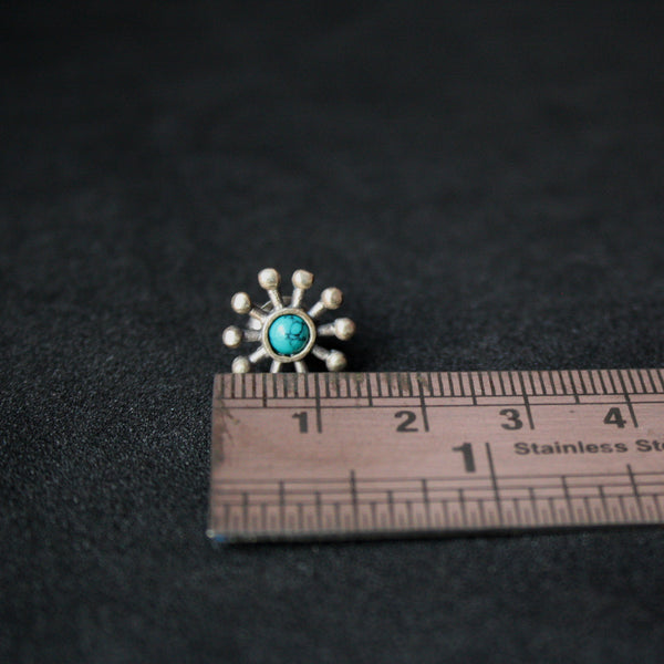 Turquoise Studs - Quirksmith