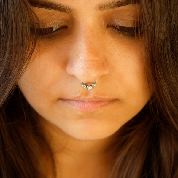 Tri Core Nosering/Septum Ring - Quirksmith