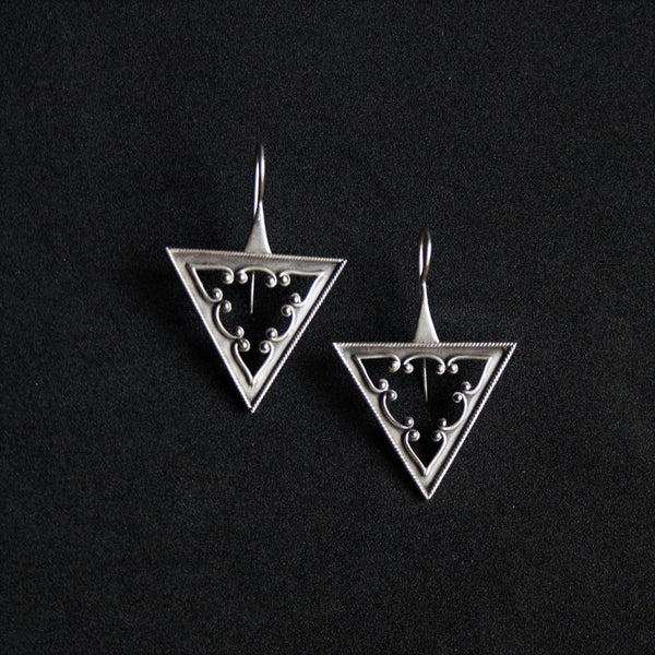 Trikone Earrings - Quirksmith