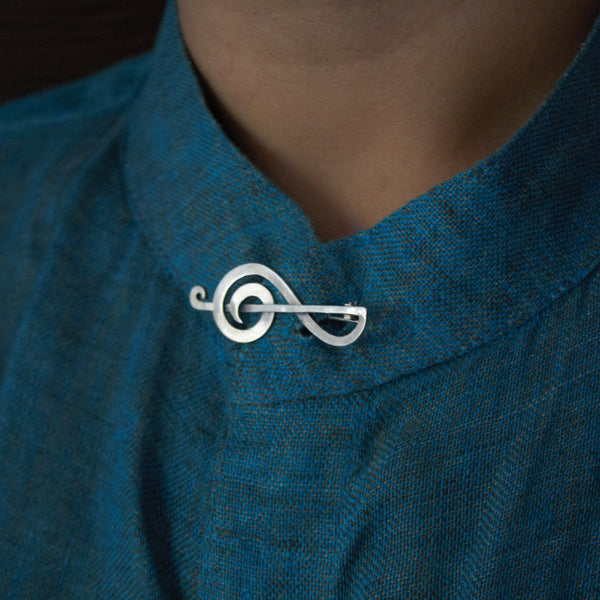 Treble Brooch - Quirksmith