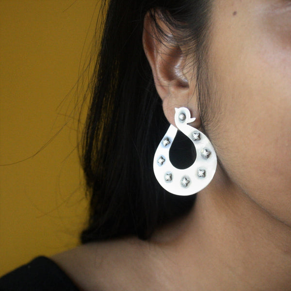 Swan Earrings - Quirksmith