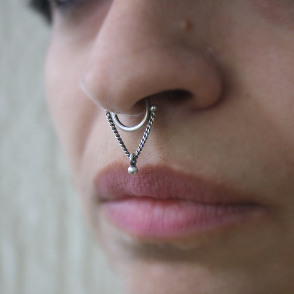 Jhoola Septum Ring - Quirksmith