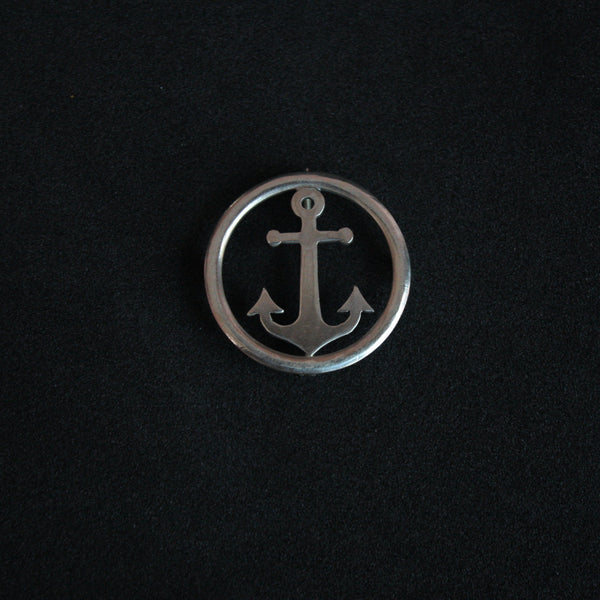 Anchor Brooch - Quirksmith