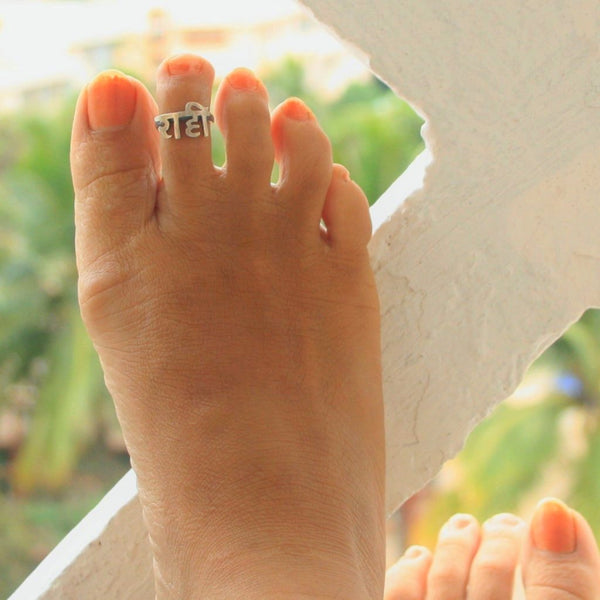Raahi Toe Ring - Quirksmith