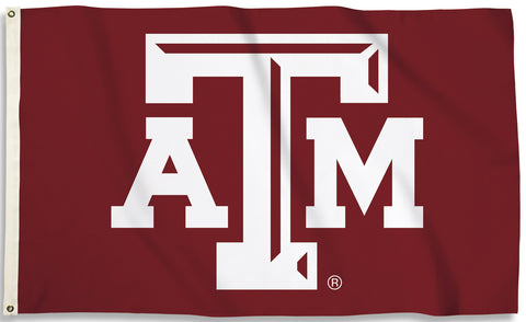 Texas A&M Aggies 2' x 3' Flag (Logo Only on Maroon) NCAA