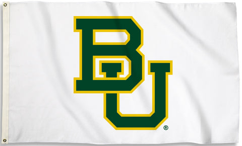 Baylor Bears 3' x 5' Flag (Logo Only on White) NCAA