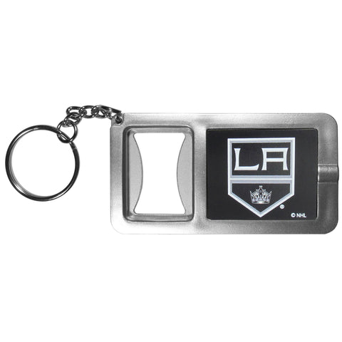 Los Angeles Kings Flashlight Key Chain with Bottle Opener NHL