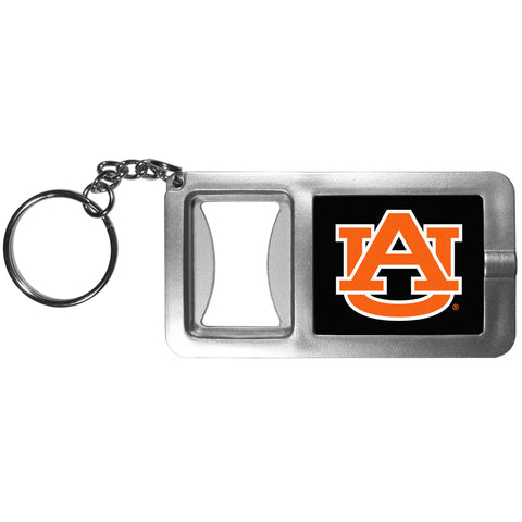 Auburn Tigers Flashlight Key Chain with Bottle Opener NCAA