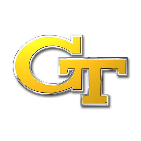 Georgia Tech Yellowjackets Auto or Hard Surface Emblem Decal NCAA