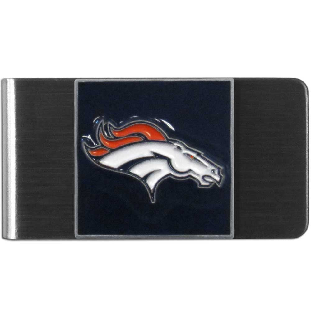 Denver Broncos Stainless Steel Money Clip (NFL)