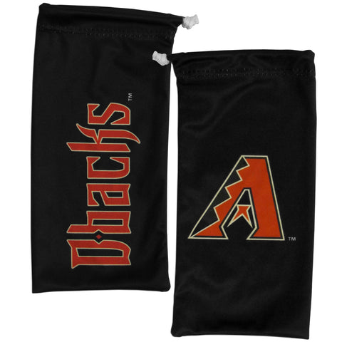 Arizona Diamondbacks Microfiber Bag for Sunglasses Glasses (MLB Baseball)