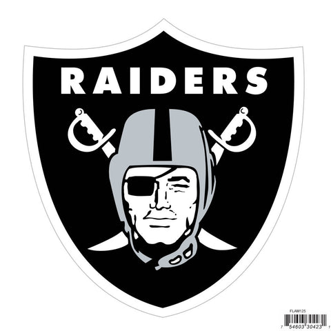 Oakland Raiders Licensed Outdoor Rated Magnet (NFL)