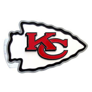 Kansas City Chiefs 3-D Metal Hitch Cover (NFL)