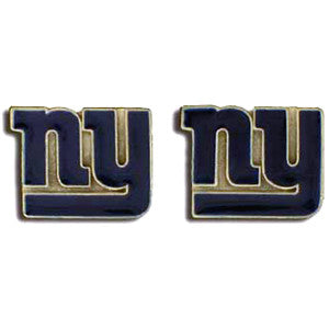 "New York Giants Stud Earrings (""NY"") NFL"