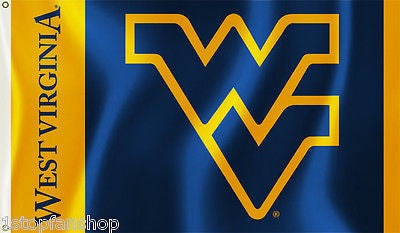 West Virginia Mountaineers 3' x 5' Flag (Logo) NCAA