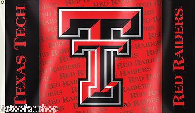 Texas Tech Red Raiders 3' x 5' Flag (Logo with Wordmark) NCAA