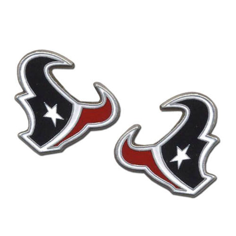 Houston Texans Stud Earrings (Logo) NFL Jewelry