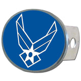 U.S. Air Force Metal Oval Hitch Cover (Wings)