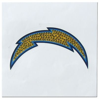 Los Angeles Chargers Vinyl Bling Auto Decal (NFL)