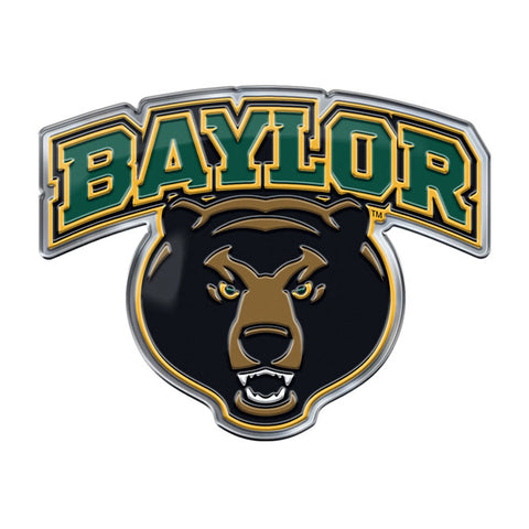 Baylor Bears Mascot Auto or Hard Surface Emblem Decal NCAA