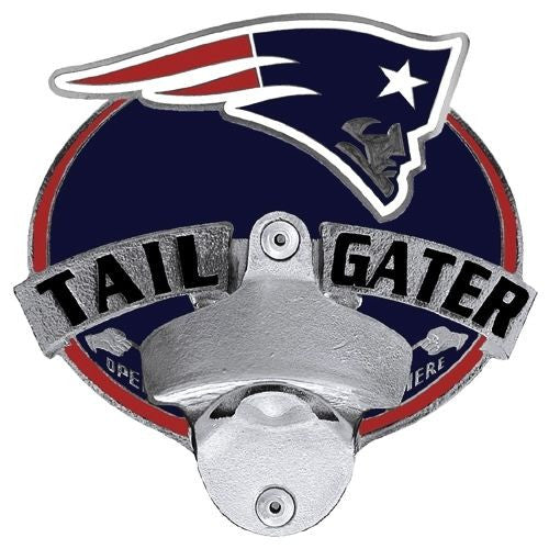 New England Patriots Tailgater Hitch Cover With Bottle Opener (NFL)