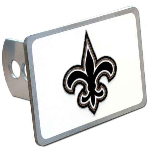 New Orleans Saints Metal Hitch Cover (NFL) (Class II and Class III)