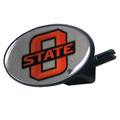 Oklahoma State Cowboys Durable Plastic Oval Hitch Cover (NCAA)