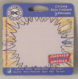 Flash Chrome Metal Auto Emblem (Seal) DC Comics Licensed