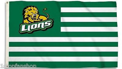 Southeastern Louisiana Lions 3' x 5' Flag (Stripes) NCAA