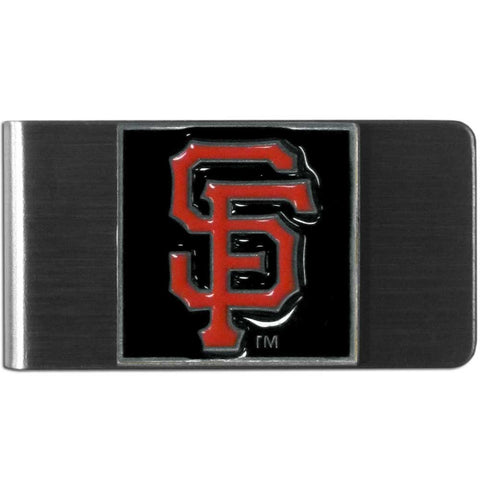 San Francisco Giants Stainless Steel Money Clip MLB