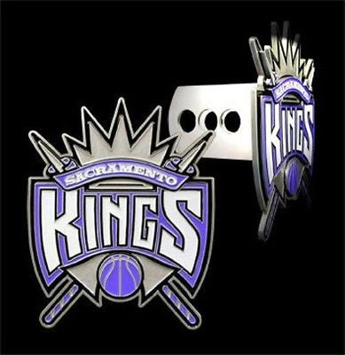 Sacramento Kings 3-D Metal Hitch Cover NBA Licensed Basketball