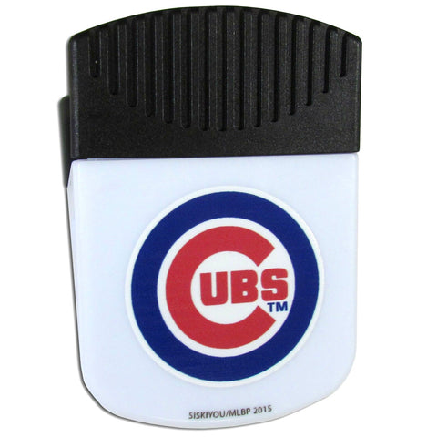 "Chicago Cubs 2"" Chip Paper Clip Magnet MLB Baseball"