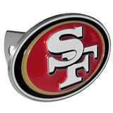 San Francisco 49ers 3-D Metal Hitch Cover (NFL)