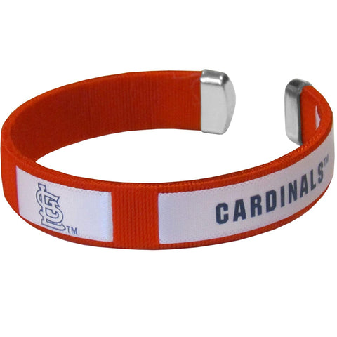 St. Louis Cardinals Fan Band Bracelet MLB Licensed Baseball Jewelry