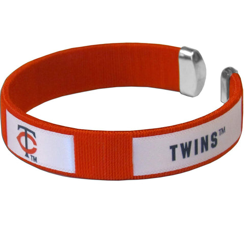 Minnesota Twins Fan Band Bracelet MLB Licensed Baseball Jewelry