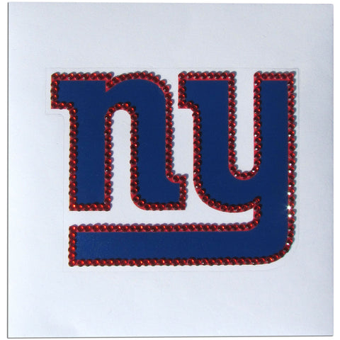 New York Giants Vinyl Bling Auto Decal (NFL)