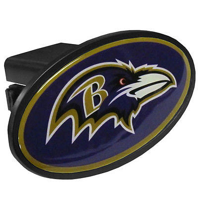 Baltimore Ravens Durable Plastic Oval Hitch Cover (NFL)