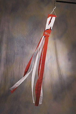 "Wisconsin Badgers 60"" Polyester Wind Sock NCAA"