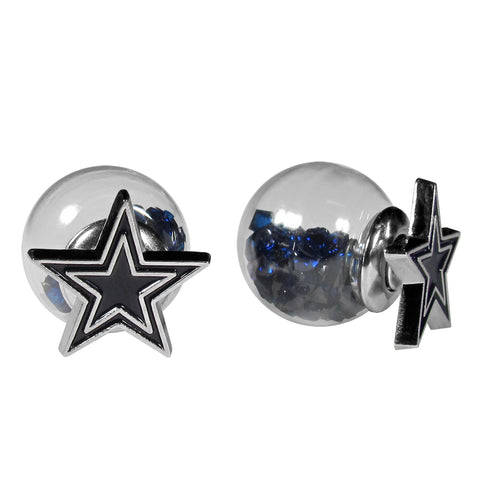 Dallas Cowboys Front/Back Earrings (NFL)