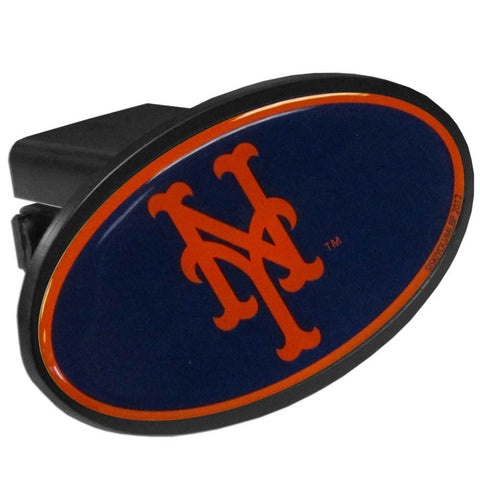 New York Mets Durable Plastic Oval Hitch Cover (MLB)